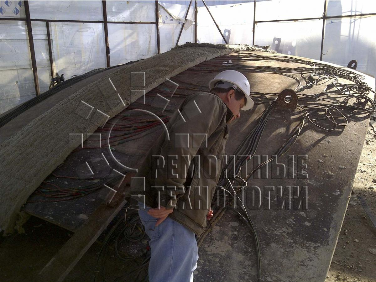 Heat treatment in Tuapse. Repair technology