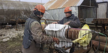 Термообработка сварных швов - Supplement of equipment for local heat treatment of welded joints