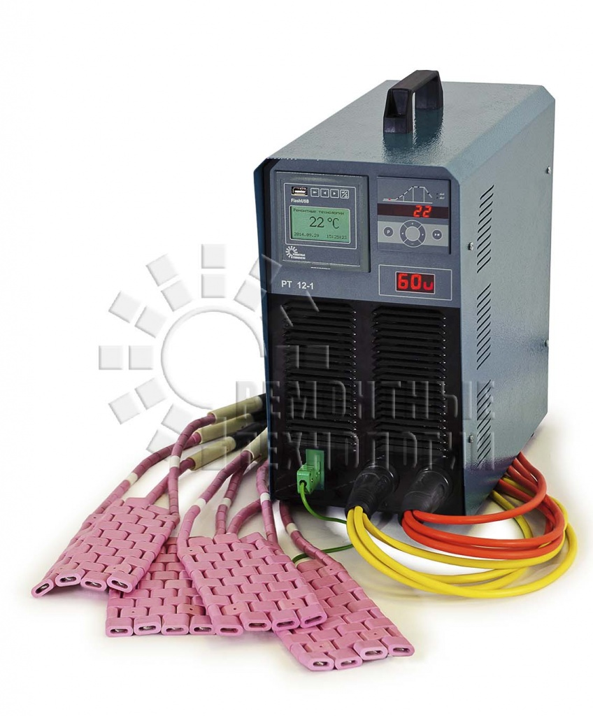 Post-welded heat treatment unit RT12-1. Inverter. Inverter unit.
