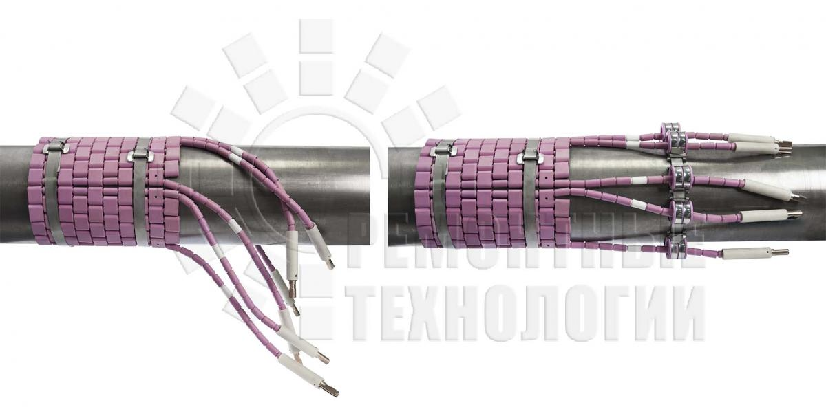 Fastening of heating elements. Heat treatment. Repair technology