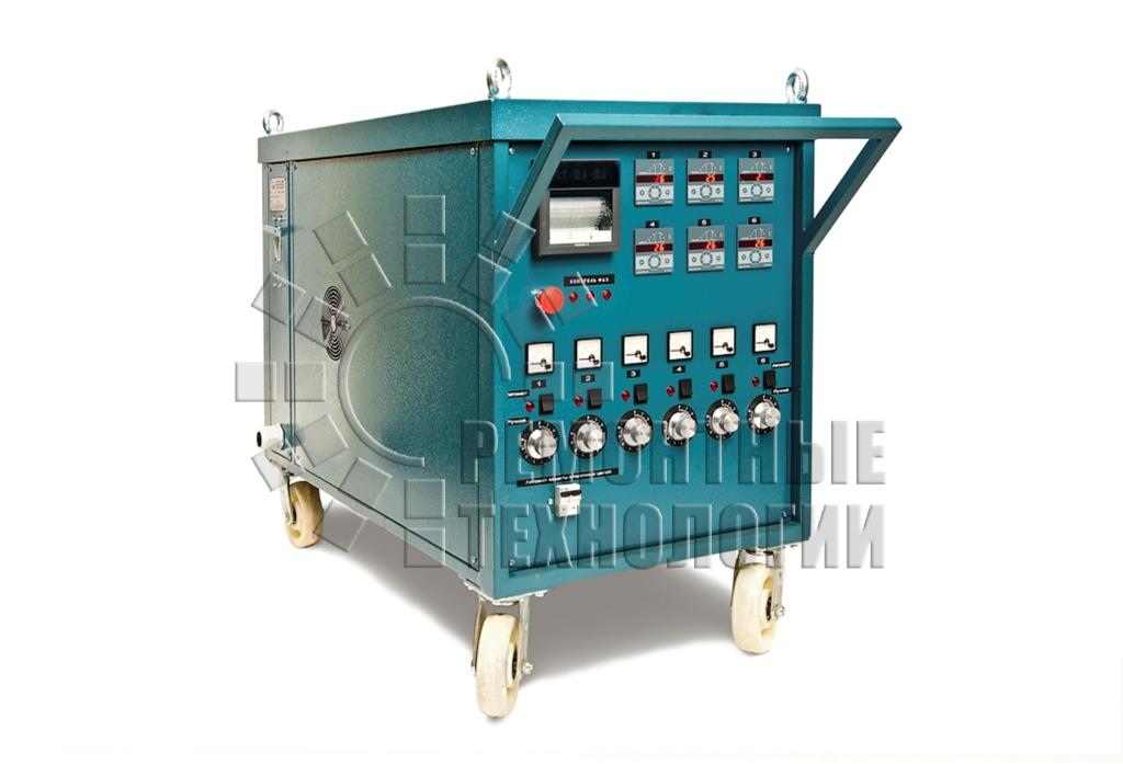 Local heat treatment unit for welded joints RT75-6-M