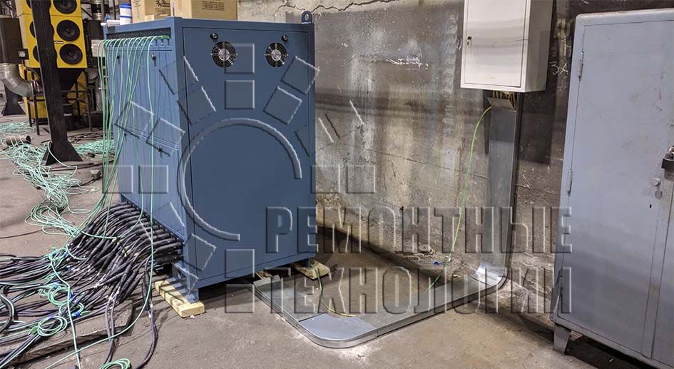 Unit for heat treatment of welded joints Repair Technology