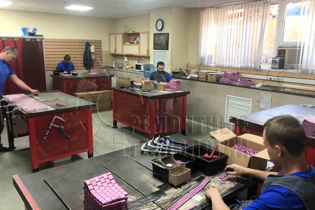 GC Repair technologies Ltd. PWHT heating elements (pads) production