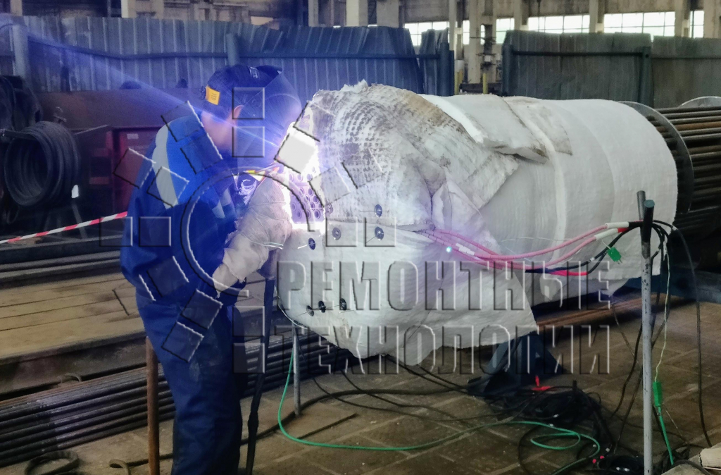 Local PWHT during welding
